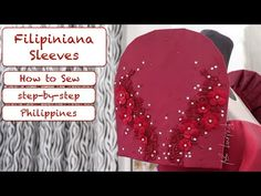 How to Sew a Filipiniana Sleeves | Vlog #11 - YouTube