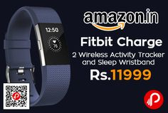 Amazon is offering 20% off on #FitbitCharge2 #Wireless Activity Tracker and Sleep #Wristband at Rs.11999 Only. Pure pulse continuous, automatic wrist-based heart rate tracking to better measure calorie burn all day, Maximize your workouts using simplified heart rate zones (Fat burn, cardio and peak),  http://www.paisebachaoindia.com/fitbit-charge-2-wireless-activity-tracker-and-sleep-wristband-at-rs-11999-only-amazon/