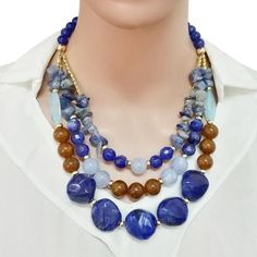 Find Me 2017 new fashion multilayer long chain collar choker necklace vintage big gem statement necklace women Jewelry wholesale Women's Jewelry Sets, Bridal Jewelry Sets, Girls Jewelry, Women Jewelry, Layered Chains, Egyptian Jewelry, African Beads, Bohemian Jewelry, Wholesale Jewelry