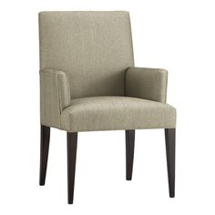 Crate and Barrel dining arm chair