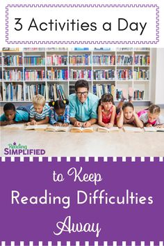 The sweetest, shortest reading lesson that also accelerates achievement...Just 3 activities a day keeps reading difficulties away! #decoding #guided reading #intervention Reading Lessons, Reading Strategies, Reading Activities, Reading Resources, Literacy Activities, Educational Activities, Reading Fluency, Teaching Reading, Guided Reading