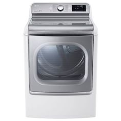 LG 9 Cu. Ft. TurboSteam™ Electric Dryer