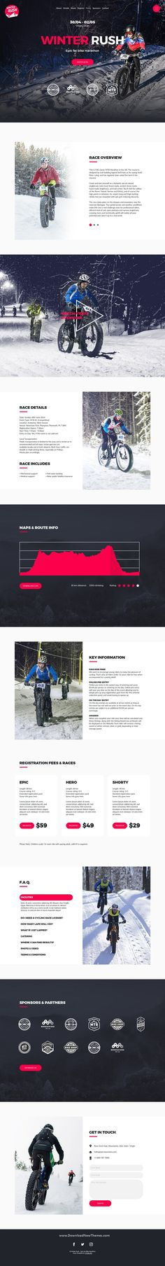Cyclent is a clean, elegant and modern design responsive premium Muse template for mountain bike or cycling events professional one page website. Its perfect for cross country, marathon, short track or any other type of race site to download now & live preview click on image 👆 webdesigns uidesign uxdesign websitetemplate webistelayout musetemplate adobewebsite cyclingevents eventswebsite bikeevents