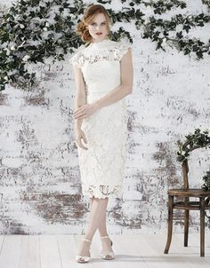 Willow Lace Bridal Dress Monsoon continue to offer delicate, beautiful dresses. The use of lace to cover shoulders is another top trend for brides looking for a combination of elements.
