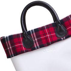 Tartan Trim - Mini O bag Accessory