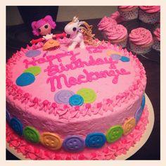 Kenzie's Lalaloopsy cake!