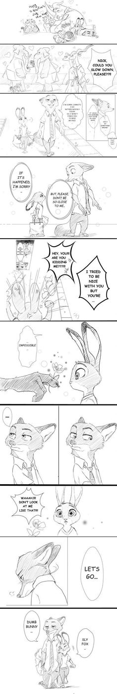 Valentines Day in Zootopia. Another nice comic by Rem289::