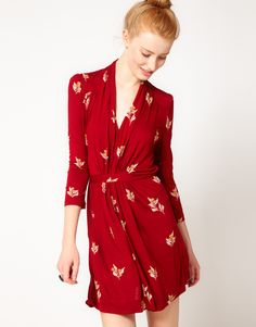 French Connection - Vintage Print Dress