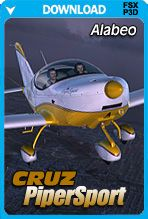 Alabeo Cruz PiperSport (FSX+P3D) is now available to buy and download at PC Aviator Australia!