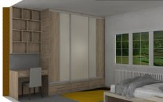 Talk to our designers about your space. We use state of the art design software to help you visualise your home. Fitted Wardrobes, Sliding Wardrobe, Wardrobe Design, Sliding Doors, Your Space, Home Office, Software, Designers, Design Ideas