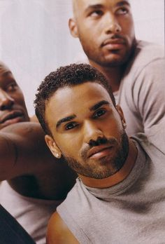 Tyrese, Shemar, and Boris!  all that sexy in one place oh lawd