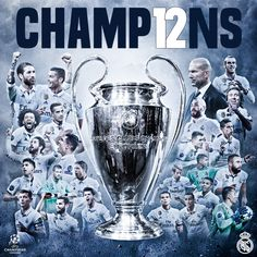 CHAMP12NS. Real Madrid, 2017.