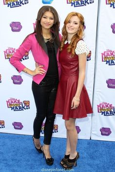 ".@zendaya96 and @bellathorne ""Make Your Mark: Shake It Up Dance Off 2012″ 2"