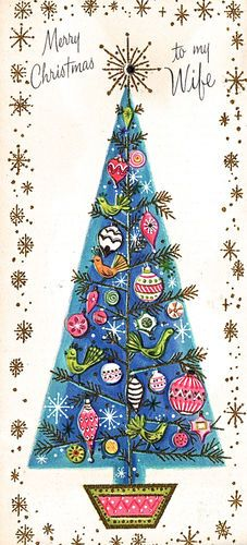 Mod Christmas Card...i have this one!
