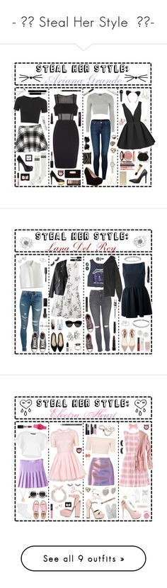 """""""- ̗̀ Steal Her Style  ̖́-"""" by i-get-a-little-bit-breathless ❤ liked on Polyvore featuring J Brand, Betsey Johnson, Chicnova Fashion, Topshop, Noisy May, Yves Saint Laurent, ZeroUV, Lana, Christian Dior and Bare Escentuals"""