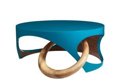 Collection Colorfull, table basse Exquisement - Rouge Absolu
