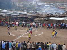 Soccer - From the Movie Pelada - What a location, used to be a dump site!