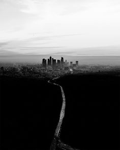 Sky-High Images of Los Angeles at Dusk and Dawn by Dylan Schwartz   Colossal
