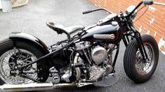 Harley Panhead, Harley Bikes, Bobber Motorcycle, Bobber Chopper, Old Trucks, Custom Bikes, Cars And Motorcycles, Old School, Harley Davidson