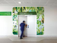 The Royal Children's Hospital Melbourne Web Banner Design, Wall Design, Design Design, Clinic Interior Design, Clinic Design, Medical Design, Healthcare Design, Environmental Graphic Design, Environmental Graphics