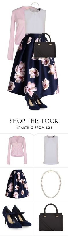 """""""Crumpets and tea with Kate Middleton"""" by mirellasandoval12 ❤ liked on Polyvore featuring Cruciani, Armani Jeans, Chicwish, Mikimoto, Monsoon and Victoria Beckham"""