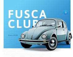 """Check out new work on my @Behance portfolio: """"Fusca Club"""" http://be.net/gallery/28810687/Fusca-Club"""