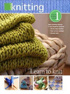 Free Beginner Knitting Patterns : Learn How to Knit.
