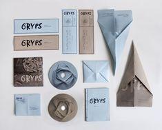 GRYPS - Prison Poetry Festival by Zuzanna Rogatty, via Behance