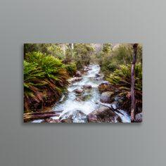 Down stream from Lady Bath Falls, Mt Buffalo. Falls Creek, Traditional Artwork, Falling Down, Buffalo, Bath, Fine Art, Art Prints, Landscape, Digital