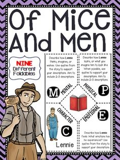 Of Mice and Men Empathy Task