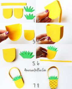 How To Make A Pineapple Purse For American Girl Dolls