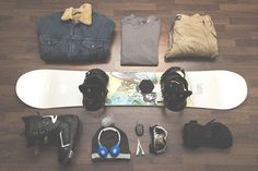 Men's Snowboard Essentials