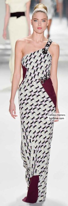 Carolina Herrera FW 2014 #NYFW