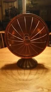 Vintage Star Rite Copper Radiant Heater Art Deco Electric Fitzgerald Mfg Co 1925