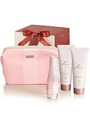 Presente Natura Luna com Nécessaire - Desodorante Colônia + Desodorante Hidratante Corporal + Sabonete Líquido + Nécessaire + Embalagem