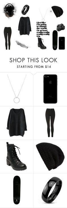 """""""Untitled #100"""" by juliab3638 on Polyvore featuring Roberto Coin, Topshop, Madden Girl, Rick Owens, County Of Milan, West Coast Jewelry, Frends and Nikon"""