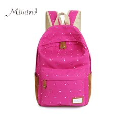 >>>Low PriceNew 2016 casual canvas backpack women fashion school bags for girls dot printing backpack shoulder bags mochila BG195New 2016 casual canvas backpack women fashion school bags for girls dot printing backpack shoulder bags mochila BG195Big Save on...Cleck Hot Deals >>> http://id739602185.cloudns.ditchyourip.com/32608469086.html images