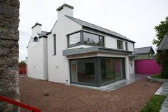 External home glass door