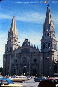 La Catedral de Guadalajara Jalisco en 1975