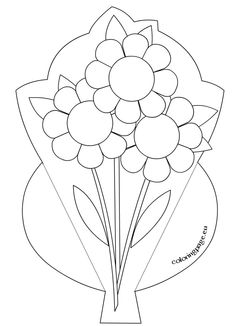 Mother's day 2015 – I love you mom Mothers Day Coloring Pages, Colouring Pages, Mothers Day Flower Pot, Art For Kids, Crafts For Kids, Kids Diy, Diy Mothers Day Gifts, I Love You Mom, Homemade Valentines