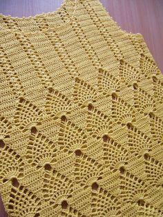 Gradient Baby Vest Making, Crochet Bolero Pattern, Crochet Jacket, Vest Pattern, Crochet Blouse, Cute Crochet, Crochet Baby, Knit Crochet, Knitting For Kids, Baby Knitting