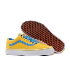 d1b7eac549c4 Vans Shoes Yellow Girlhood Old Skool Shoes Womens Classic Canvas Cheap Van
