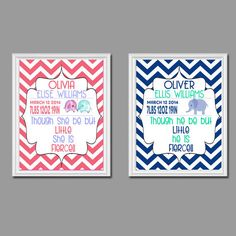 Birth Announcement and Quote Pick Girl or Boy 8x10 Print FREE SHIPPING
