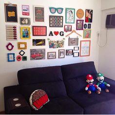Bom dia!! Voltando à programação normal com essa sala linda do @alyssonbraga_! ❤️ #decoraçãoporvocê #saladpv