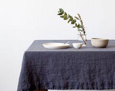 Leinen Tischdecke, Weihnachten – von Etsy