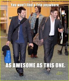 I just find it endlessly amusing that in real life Jensen is the one in a suit.