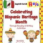 $ This is a revised and updated ELA/Social Studies Thematic Unit for Hispanic Heritage Month for Grades 2-3. Students will learn about what Hispanic Heritage month is about and why we celebrate it through reading and writing activities.