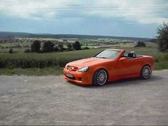 Mercedes SLK R170 Tuning (V23k) in orange