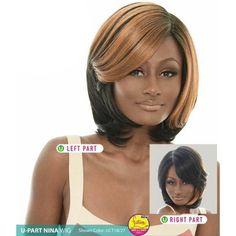 Janet Collection U-Part Wig (Dual Part & Color) - NINA