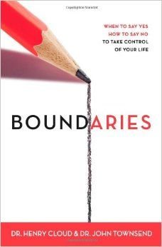 Boundaries: When to Say Yes, How to Say No to Take Control of Your Life: Henry Cloud, John Townsend: 9780310247456: Amazon.com: Books